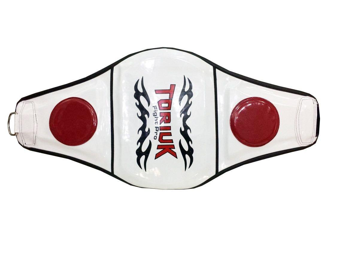 Protetor Abdominal Cinturão Muay Thai - Tradicional - Unid   - Loja do Competidor