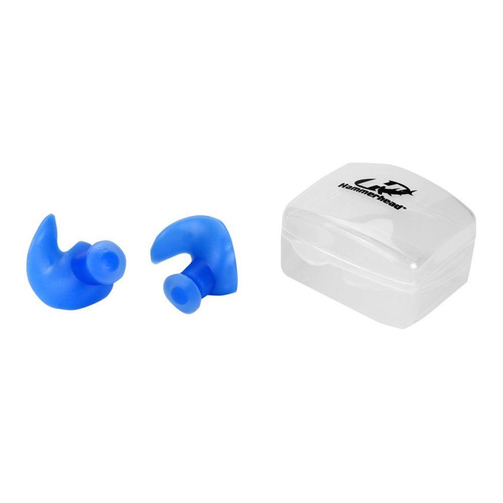 ???Protetor Auricular Ouvido - Natação Hidroginástica - Ergonômico - Par - Hammerhead