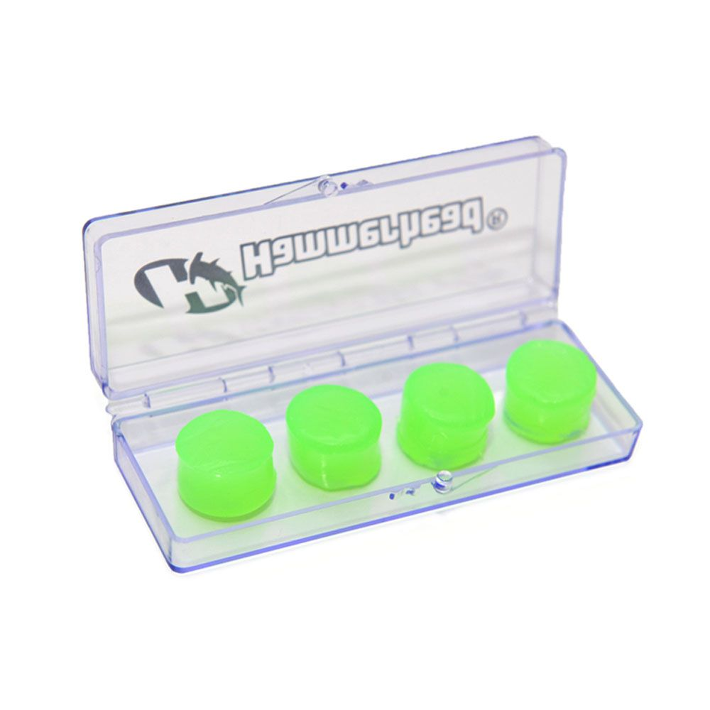 Protetor Auricular Ouvido - Natação Hidroginástica - Silicone - Hammerhead - 2 pares