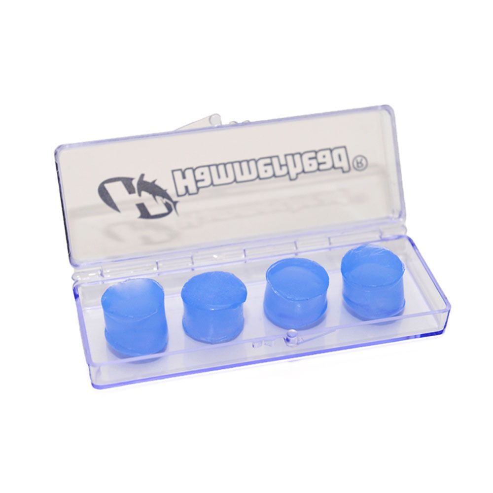 Protetor Auricular Ouvido - Natação Hidroginástica - Silicone - Hammerhead - 2 pares  - Loja do Competidor