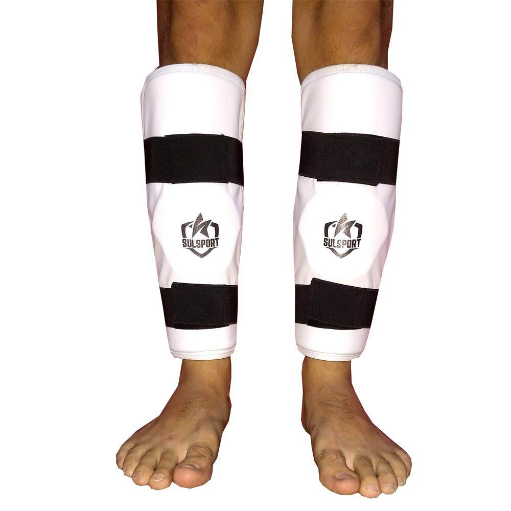 Protetor de Canela Caneleira sem Pé - Taekwondo - CBTKD - Sulsport  - Loja do Competidor