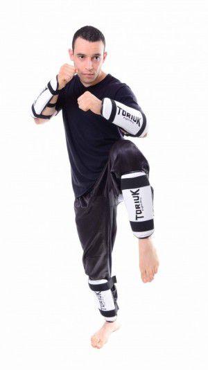 Protetor de Canela - Taekwondo - Liso - Toriuk - Frete Grátis  - Loja do Competidor