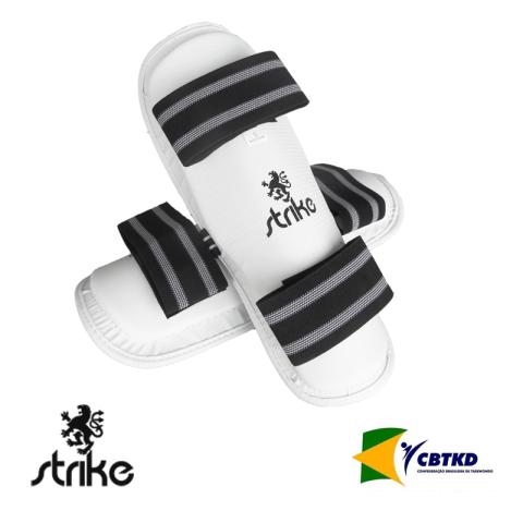 Protetor de Canela Caneleira sem Pé - Taekwondo - Strike -  - Loja do Competidor