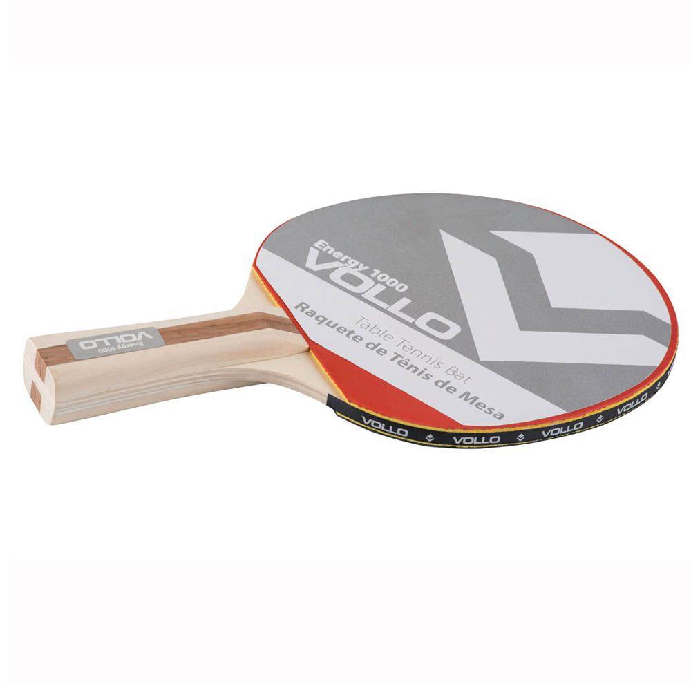 Raquete Tenis de Mesa Ping Pong - Energy 1000 - VT603 - Vollo  - Loja do Competidor