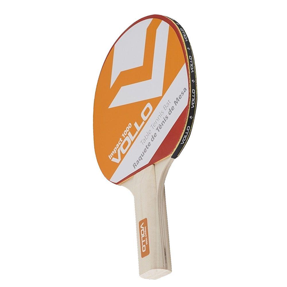 Raquete Tenis de Mesa / Ping Pong - Impact 1000 - VT602 - Vollo  - Loja do Competidor