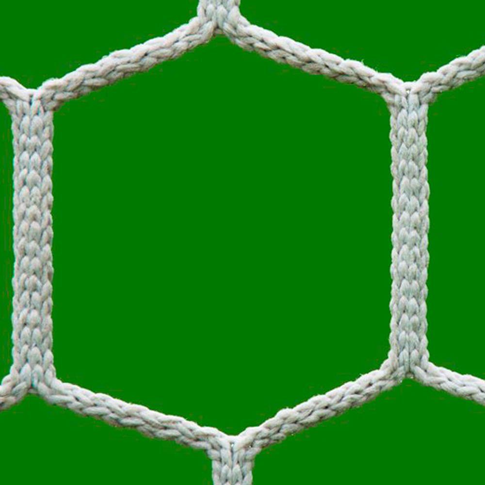 Rede Futebol de Campo - FM-4X - Tipo México - Colméia - Fio 4mm - Par - Master  - Loja do Competidor