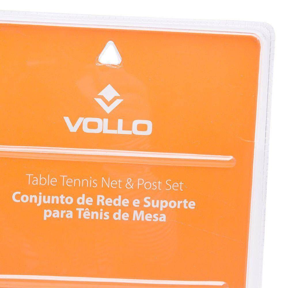 Rede Tenis de Mesa Ping Pong - Com suporte- VT605 - Vollo  - Loja do Competidor