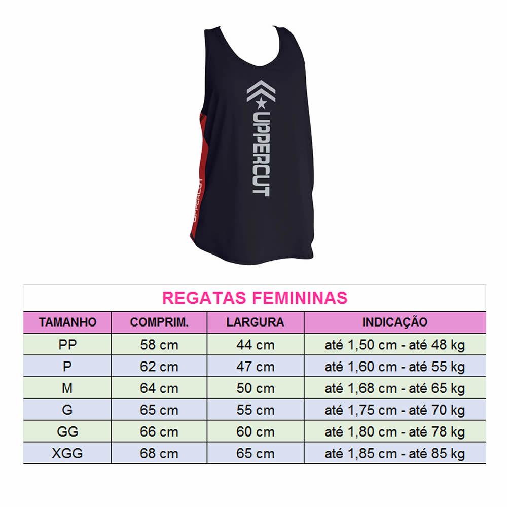 Regata Esportiva Dry Fit - Muay Thai - UV-50+ - Feminina  - Loja do Competidor