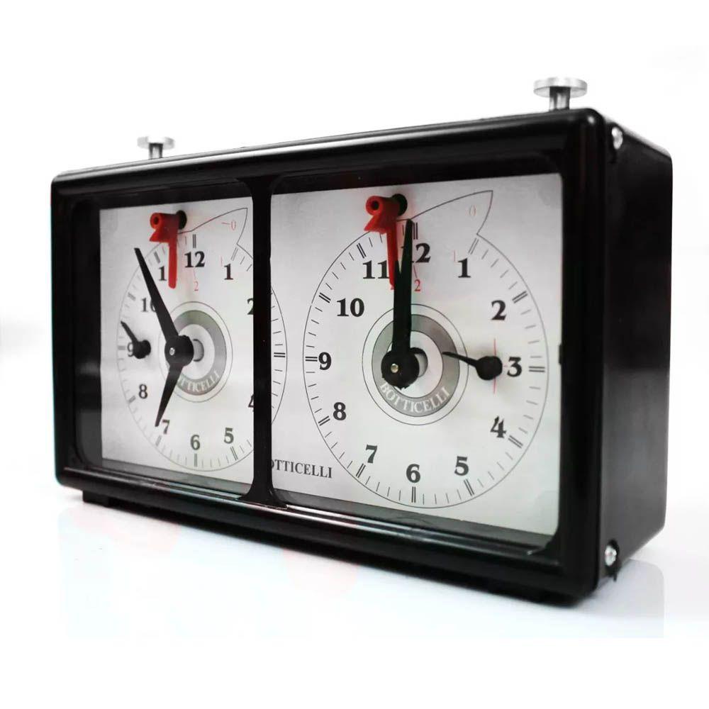 Relógio para Xadrez - Analógico - Oficial - Botticelli