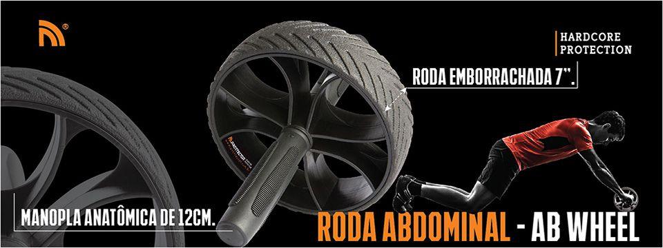 Roda de Exercícios - Flexão/Abdominal - AB Wheel- Prottector .  - Loja do Competidor