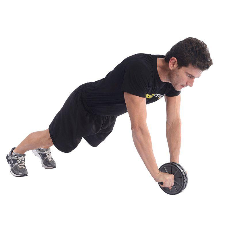 Roda de Exercícios - Flexão/Abdominal - Dupla - TRK  - Loja do Competidor