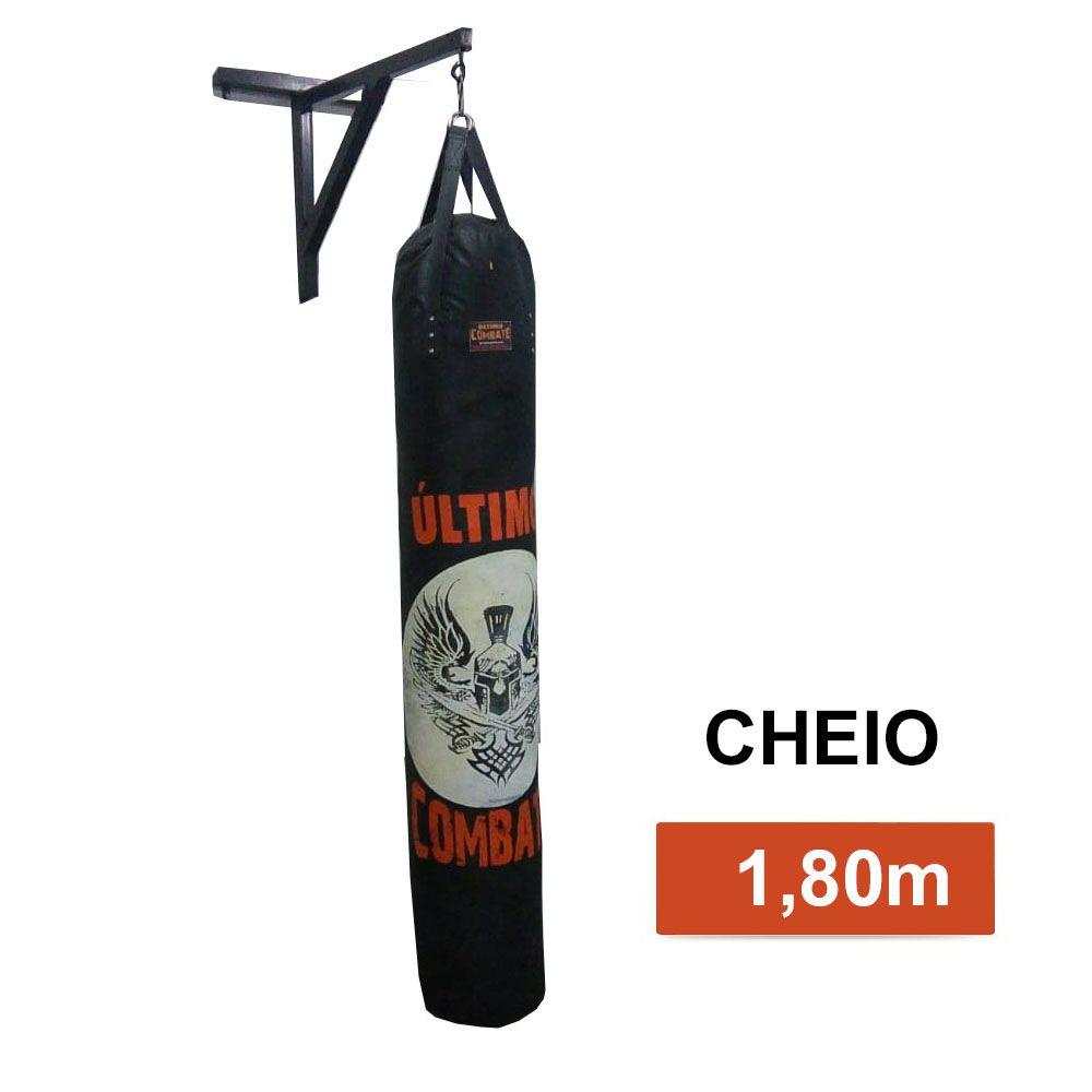 Saco de Pancadas Elite - Lona Náutica - Cheio - 1,80m - UC