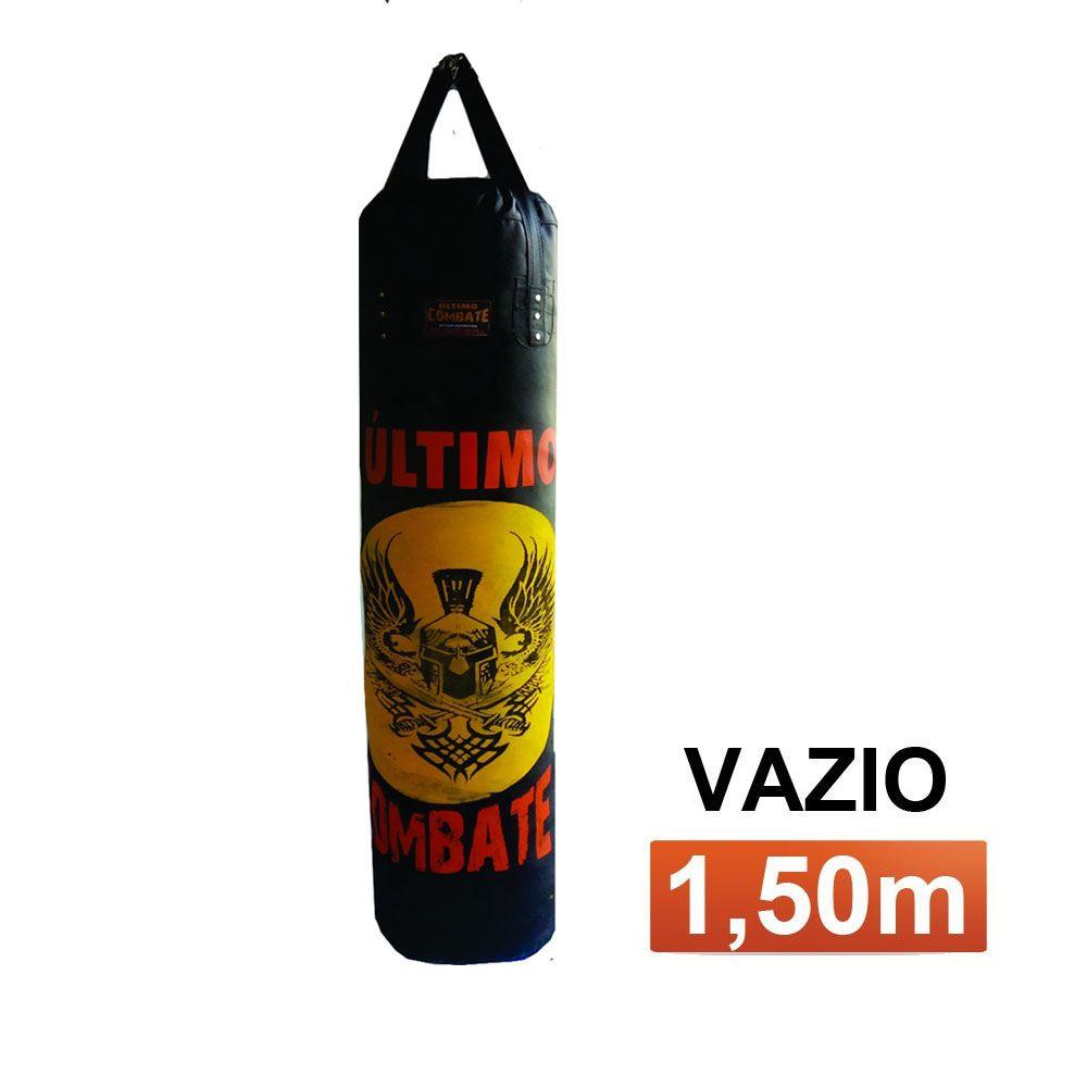 Saco de Pancadas Elite - Lona Náutica - Vazio- 1,50m - UC