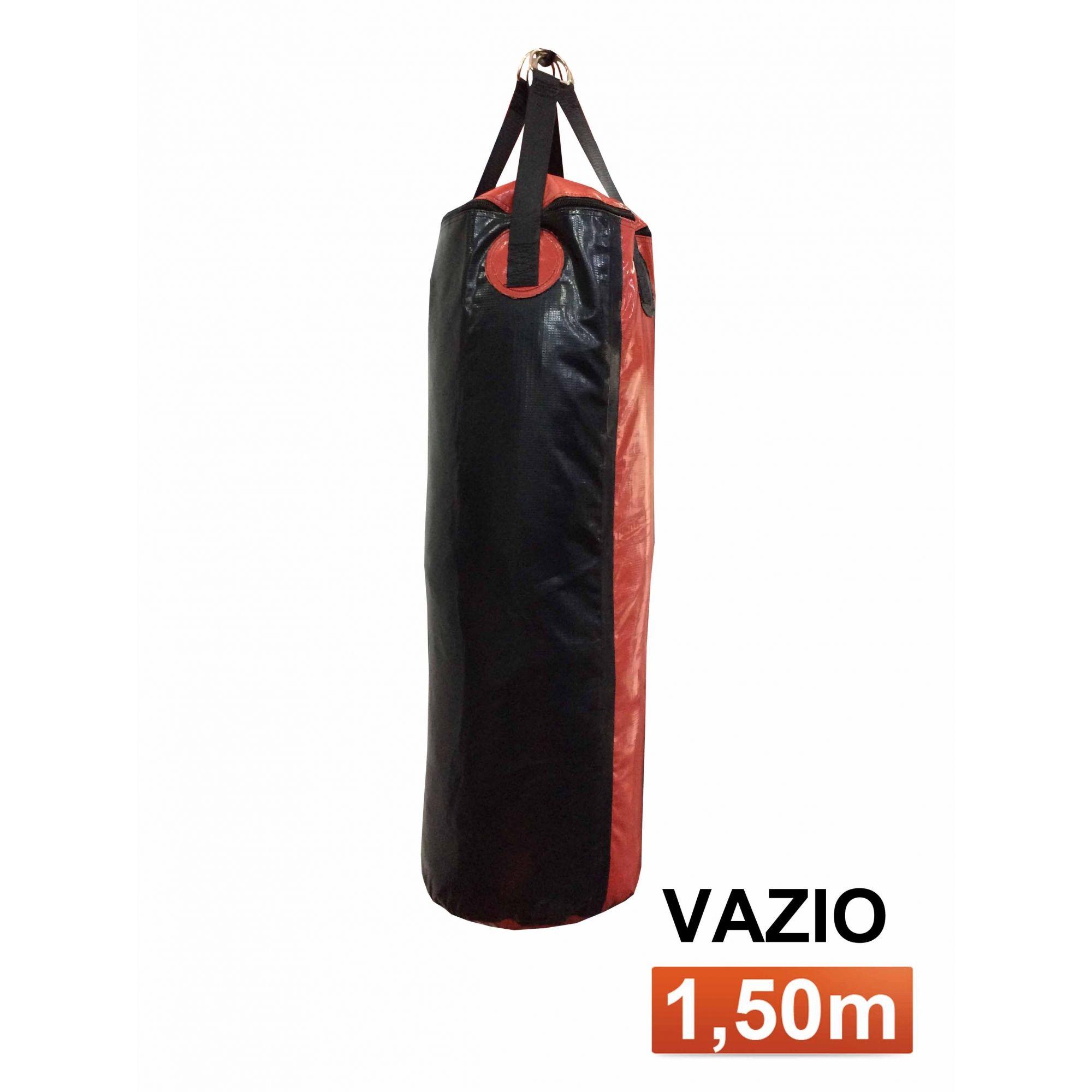 Saco de Pancadas - Lona Náutica - Vazio - 1,50m- Toriuk  - Loja do Competidor