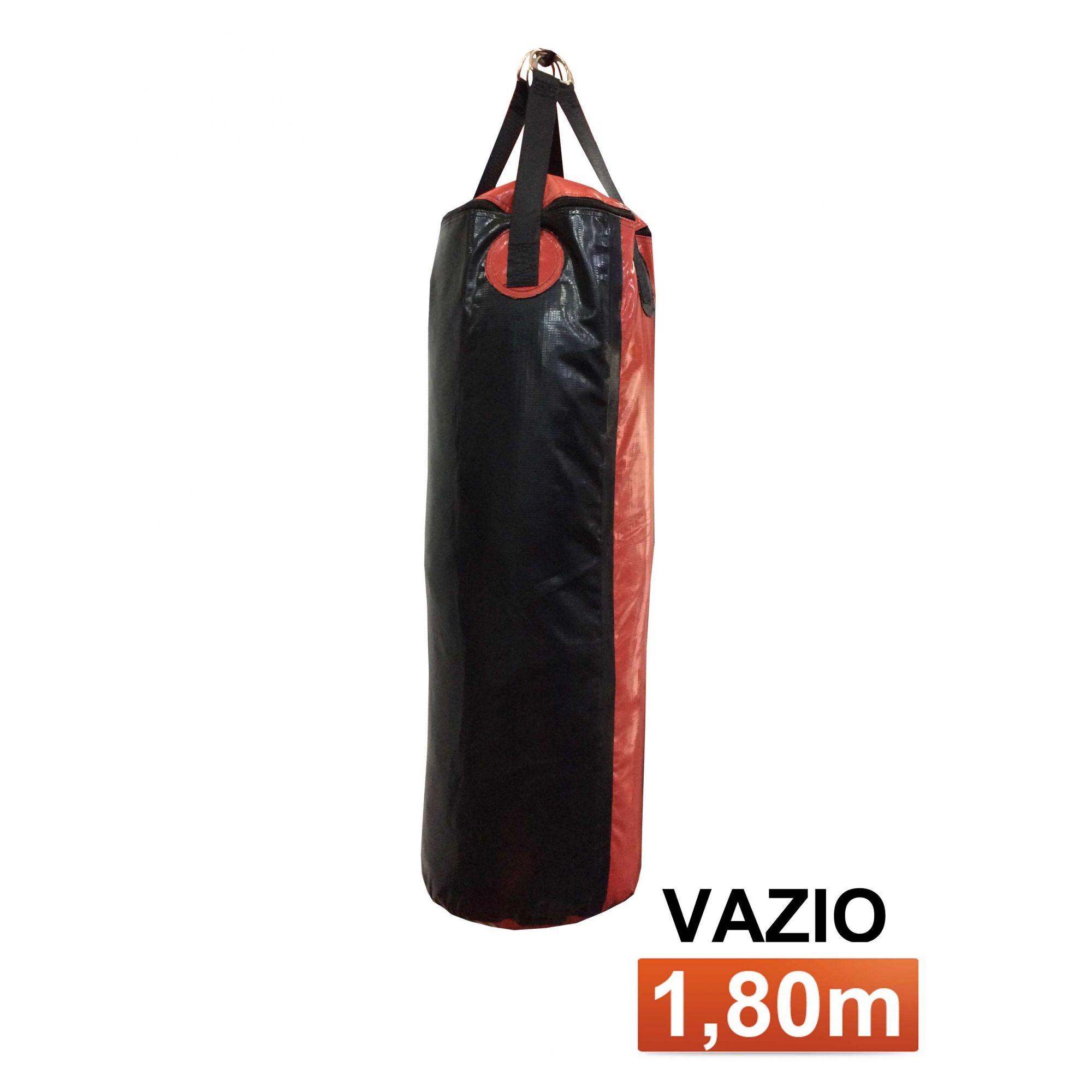 Saco de Pancadas - Lona Náutica - Vazio - 1,80m- Toriuk  - Loja do Competidor