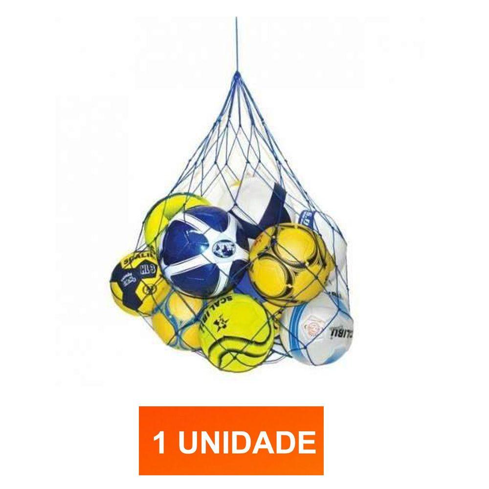 Saco Sacola para guardar bolas - 10 Bolas - Nylon Fio 5 - Pentagol
