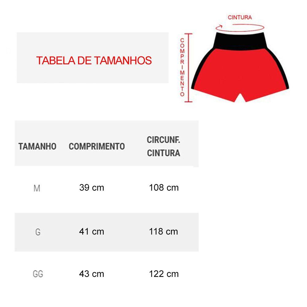 Kit com 16 Shorts Calção Musculação Fitness - Ferrara - Liso - Azul/Verm - Feminino- Kanga  - Loja do Competidor