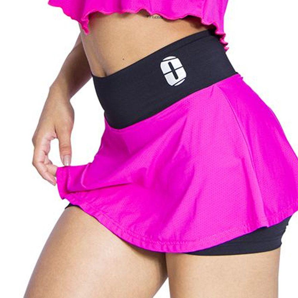 Short Fitness / Saia - Godê-  Feminina - One Sport -
