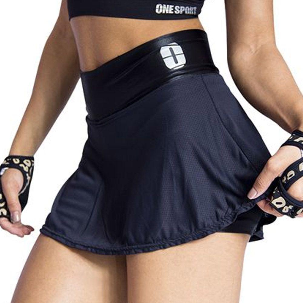 Short Fitness / Saia - Godê-  Feminina - One Sport -  - Loja do Competidor