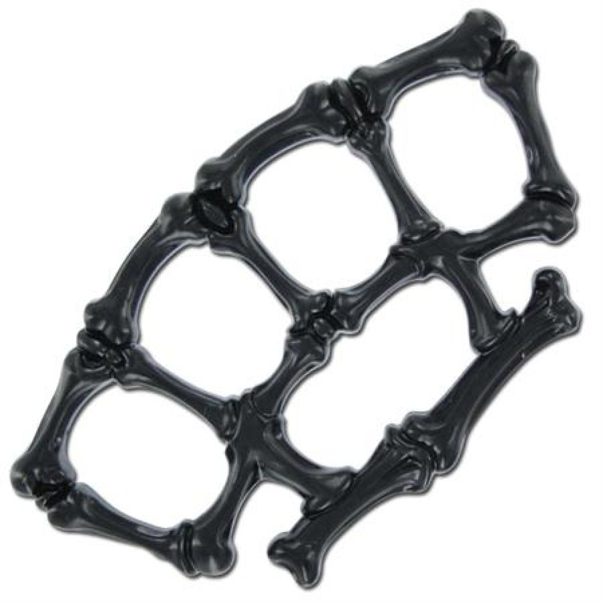 Soco Inglês - Ossos - Aço Carbono- Preto - TRK