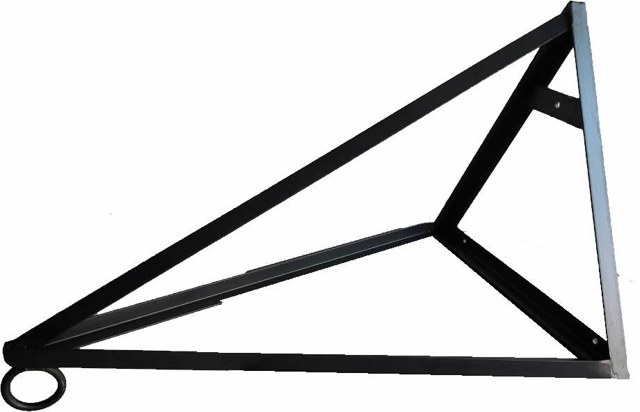 Suporte Triangular para Saco de Pancada - Parede - Unid