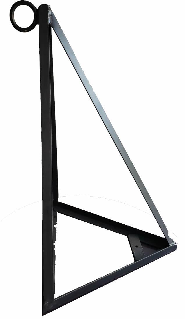 Suporte Triangular para Saco de Pancada - Parede - Unid  - Loja do Competidor