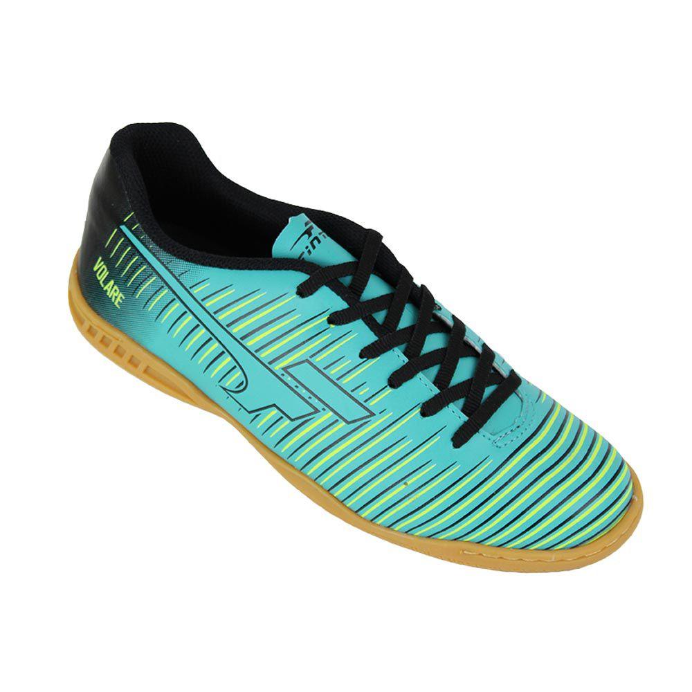 Tênis / Chuteira para Futebol de Quadra / Futsal - Volare - Adulto - Azul-  Finta  - Loja do Competidor