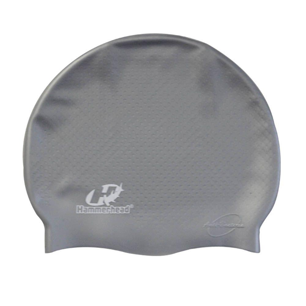 Touca de Natação Hidroginástica - Massageadora - Silicone - Hammerhead  - Loja do Competidor
