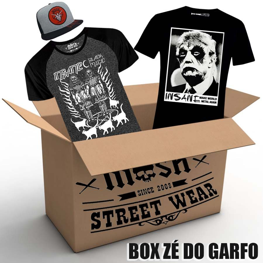 BOX ZÉ DO GARFO