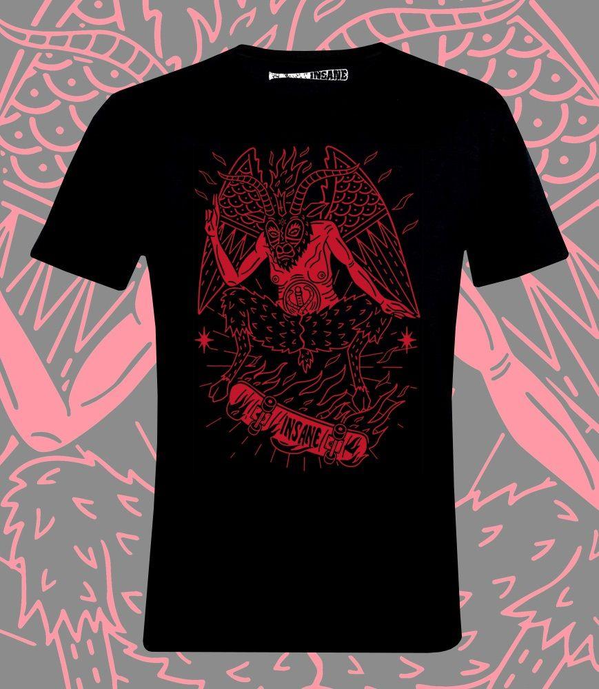Camiseta Insane BaphoSkate