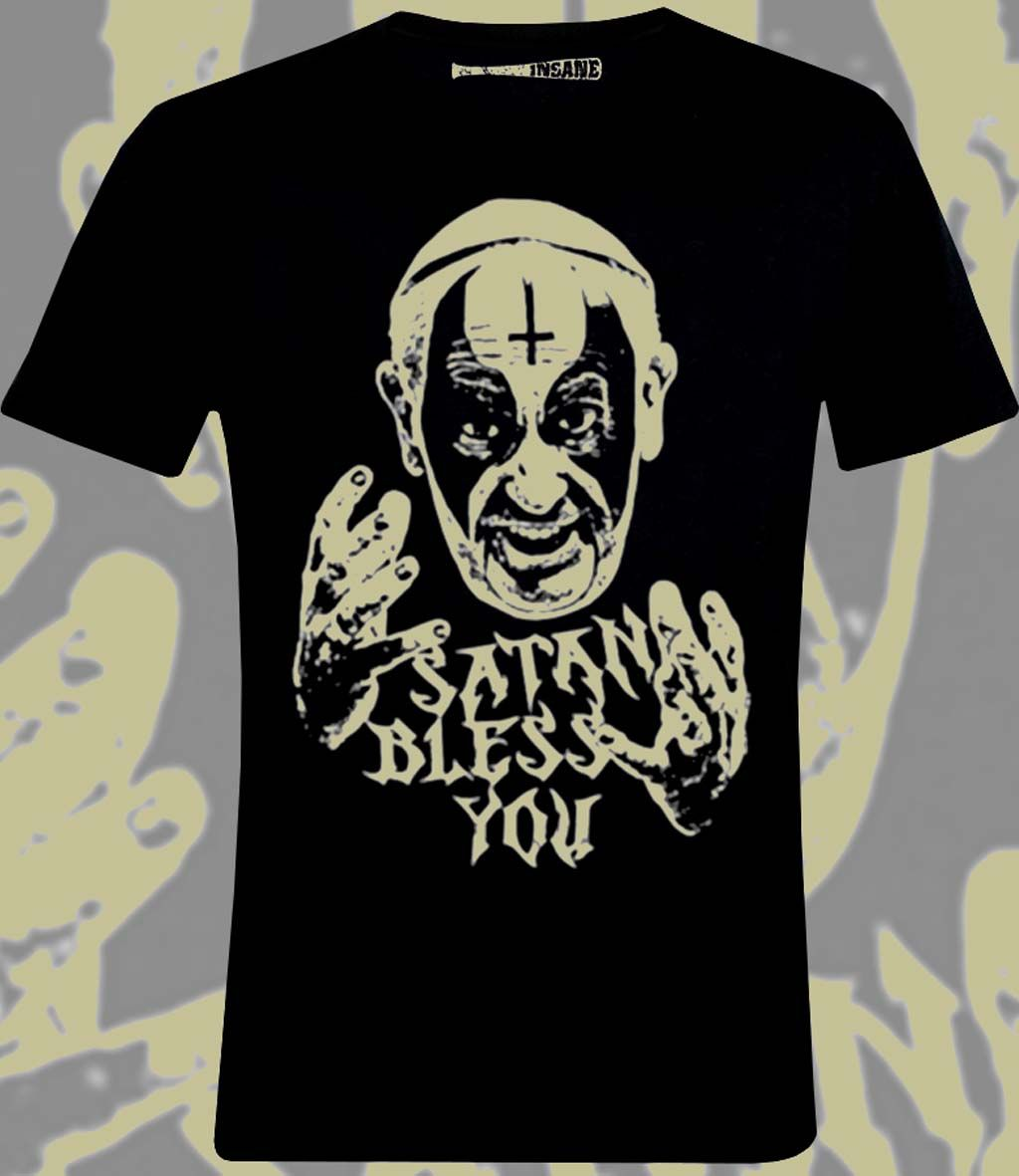 Camiseta Insane Bless You