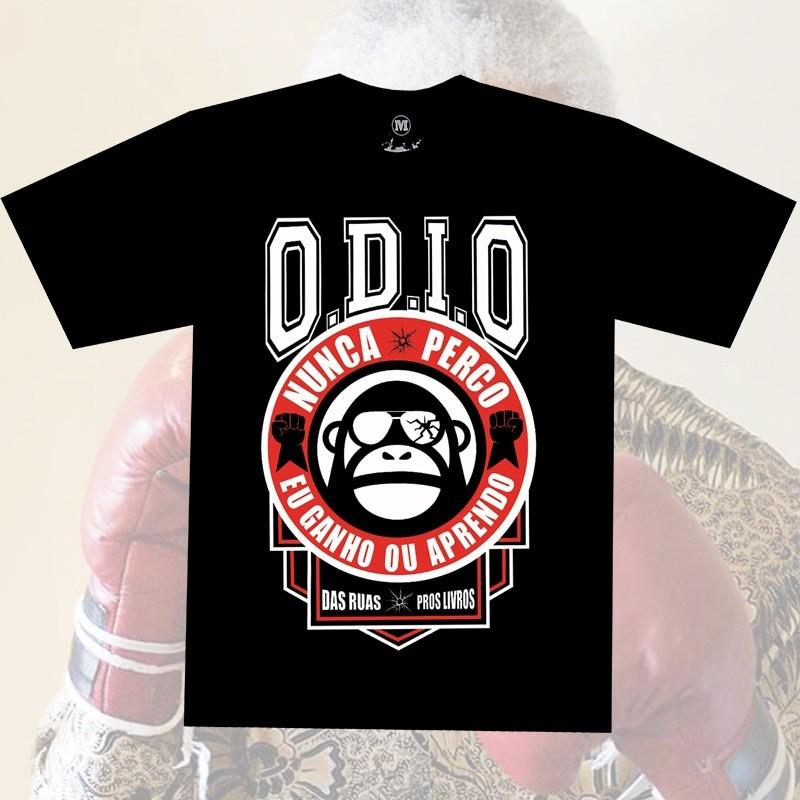Camiseta O.D.I.O - MANDELA NUNCA PERCO