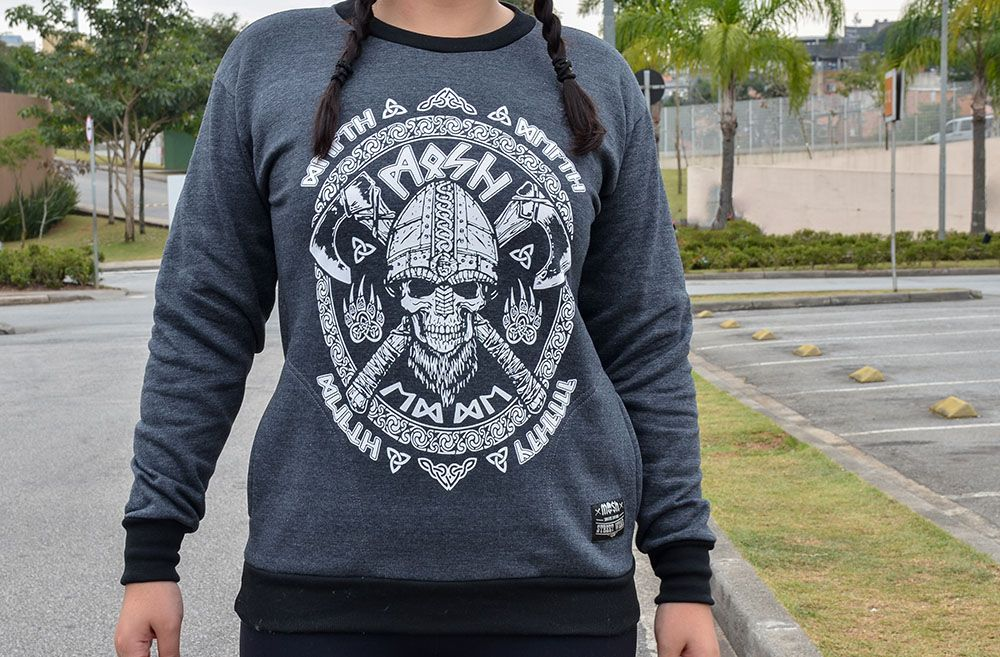 Moletom Viking Warrior