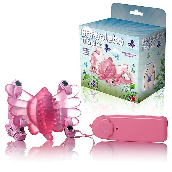 Borboleta Mágica Butterfly - Estimulador Clitoriano - Rosa