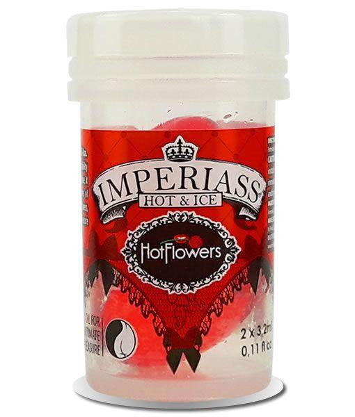 Cápsula Imperiass Vermelha Esquenta E Esfria - Hot Flowers