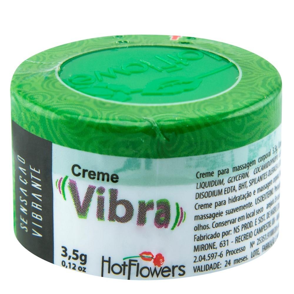 Creme Vibra Hot Flowers - Excitante