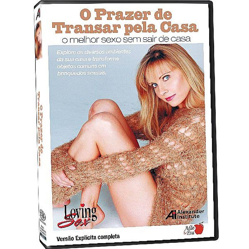 DVD - O PRAZER DE TRANSAR PELA CASA
