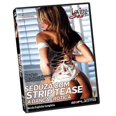 DVD - Seduza com Strip Tease Loving Sex
