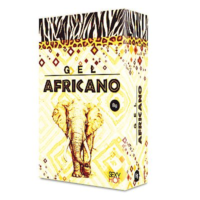 Gel anestésico anal africano - Lubrificante íntimo
