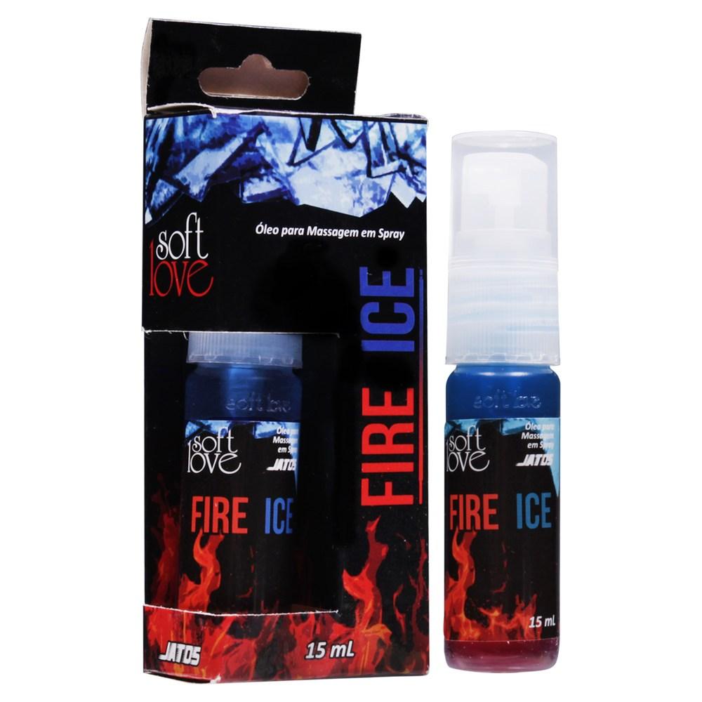 Gel Excitante Fire Ice Jatos 15ml esquenta e Esfria - Soft Love