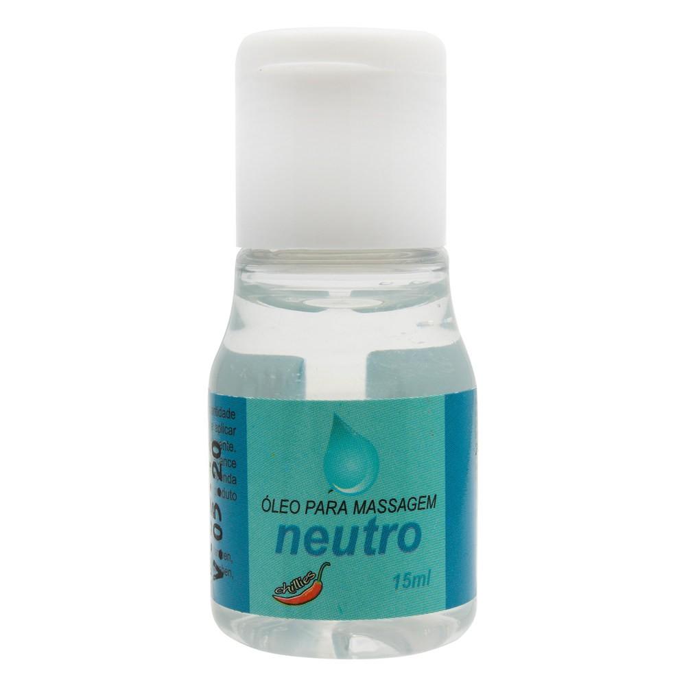 Gel Lubrificante Íntimo Neutro 15ml - Chillies