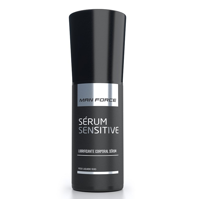 Gel Retardante Serum Sensitive Man Force 50g