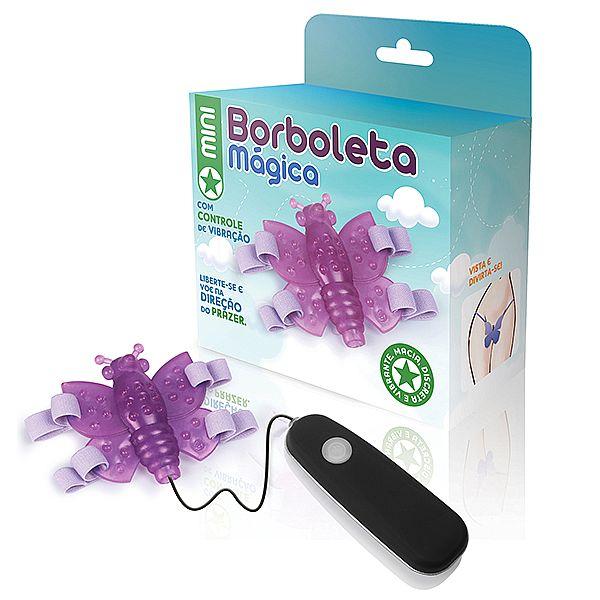 Mini Borboleta mágica lilás - 12 variações de velocidade - Adão e Eva