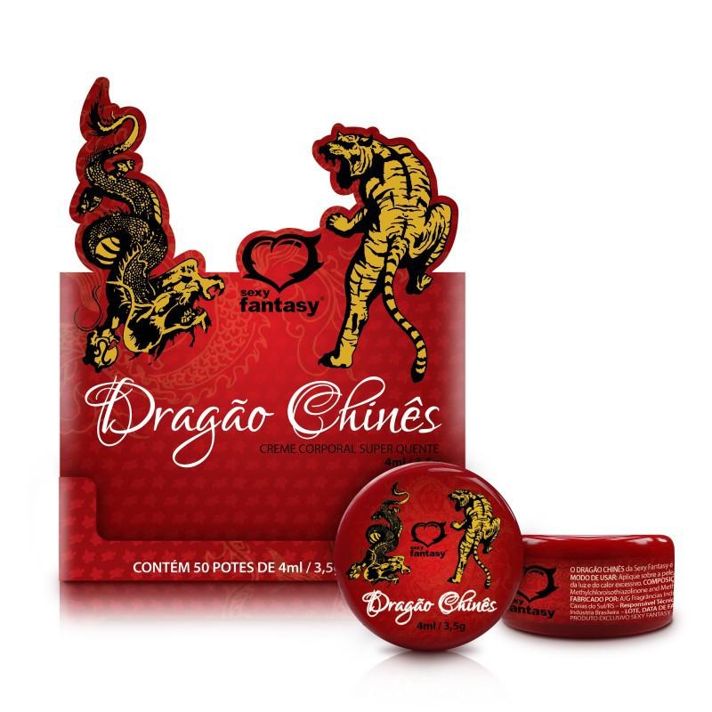 Pomada Excitante Dragão Chinês 3,5g - Sexy Fantasy