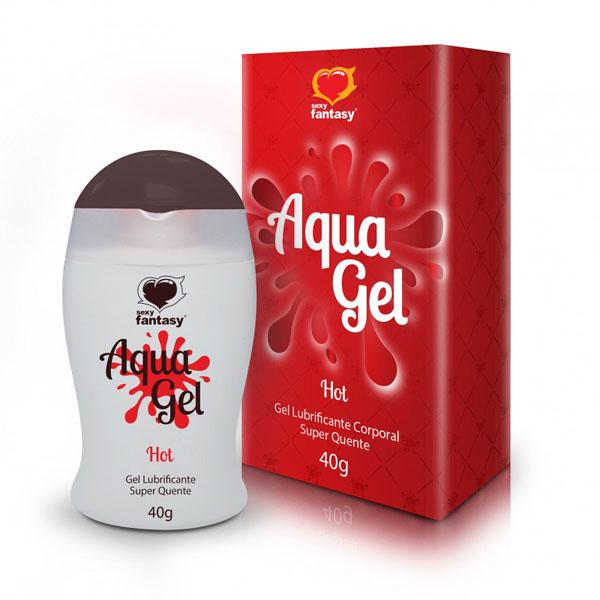 AquaGel Hot - Lubrificante  e Excitante 40g