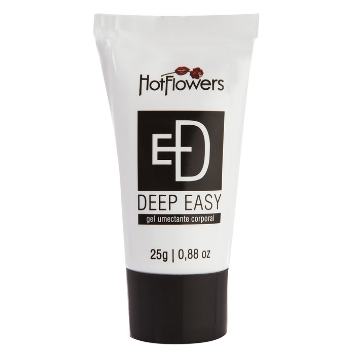 Gel Preto Deep Easy 25g - Gel Anal