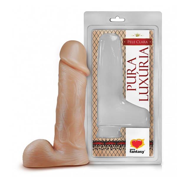 Pênis Maciço com escroto 18 x 4,4cm