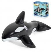 Bote Baleia Inflável Bóia Gigante Piscina Alça Para Criança