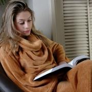 Cobertor Com Mangas Adulto Manta Soft 1,60m x 1,30m