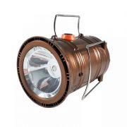 Lampiao Função Lanterna Holofote Bivolt Solar  Recarregavel